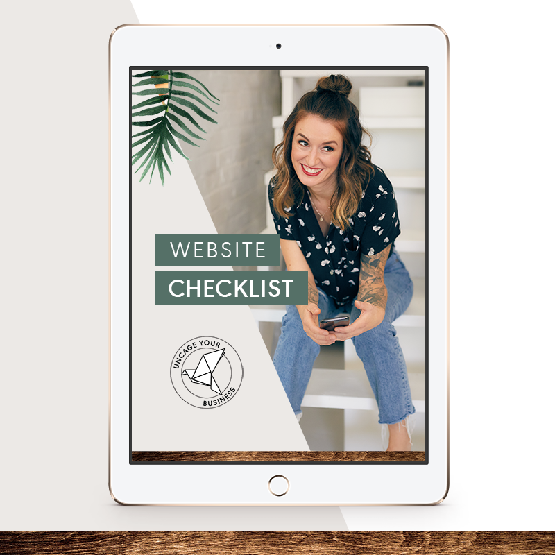 UYB.bonus.Website.Checklist
